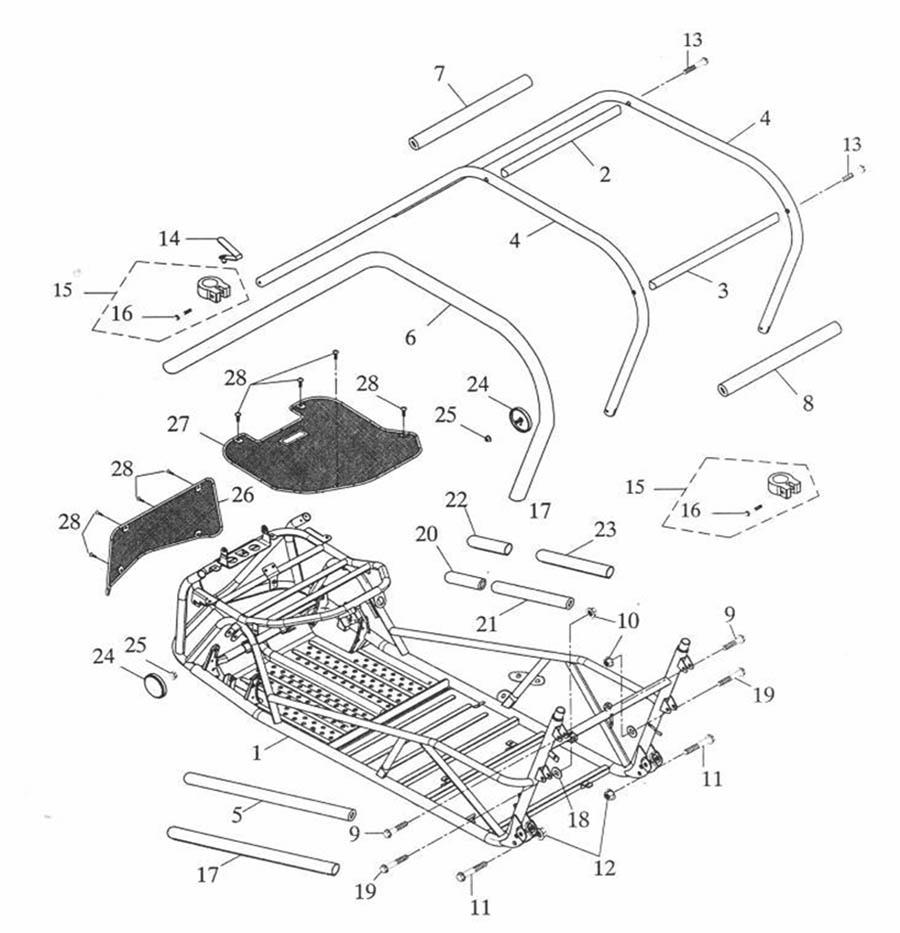 Buggycity - Clip,Rahmen, Adly, Herkules, ATK 125, Buggy